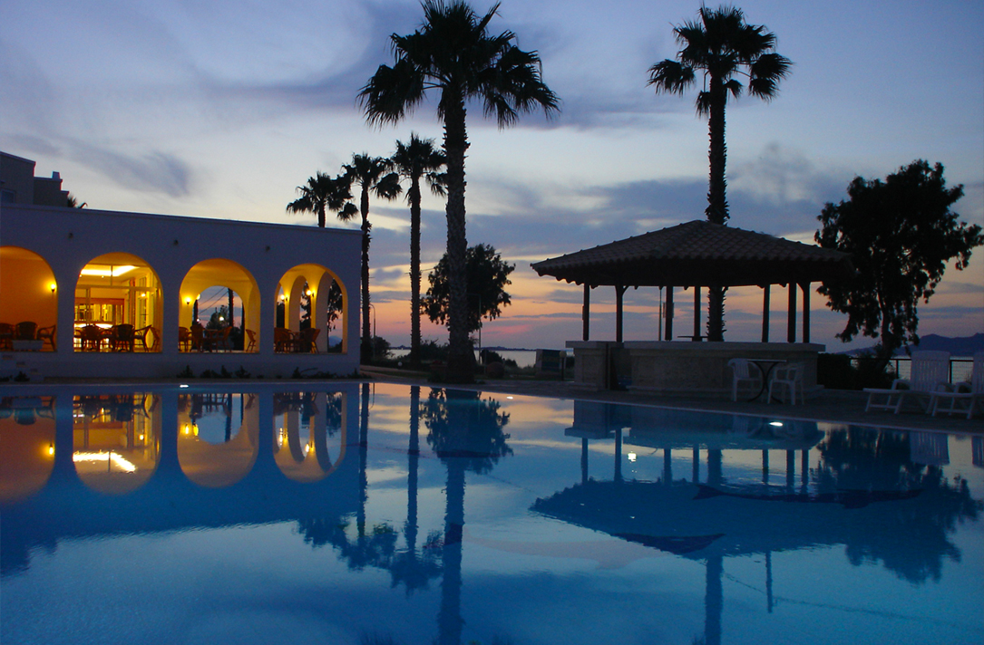 Andromeda Hotel in Psalidi of Kos island, Greece   Hotel in